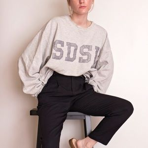 Vintage 90s SDSU San Diego distressed sweater